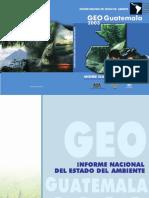 Informe National Del Estado Del Ambiente - GEO Guatemala 2003.PDF