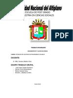 Diagnóstico y Lluvia de Ideas Del Pdcl Ananeatrabagrupalmaestria