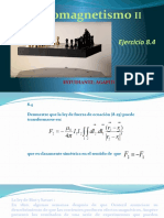 Ejercicio 8.4 Electromagnetismo II