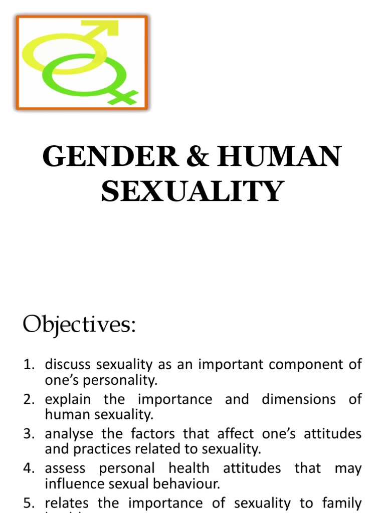 Family health gender and human sexuality