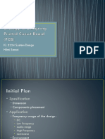 Strategy in (PCB) Design.