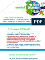 Dr. Sireen Dental Environmental Health Lecture 2017