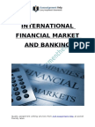 International Financial Market And Banking Sectors