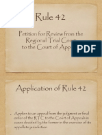 Rule 42 Presentation Final