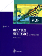 Greiner W. Quantum Mechanics. an Introduction (Springer, 2001)(T)(509s)