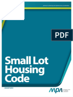 Small Lot Housing Code August 20141