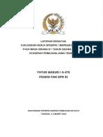 Kunker Spesifik Reses DPR
