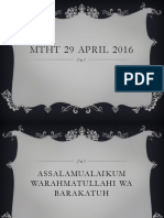 Mtht 29 April 2016