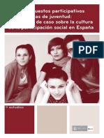Los Presupuestoa Participativos y Las Politicas de Juventud