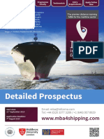 FLP2465HA101 MBA in Shipping Logistics Prospectus