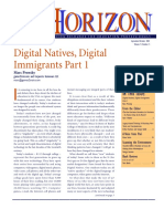 """Digital Natives, Digital Immigrants, Part 1"", by Marc Prensky"