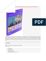 PTDF Scholarship Past Questions and Answers
