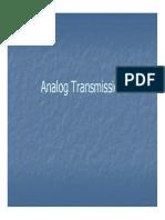 W5 - Analog