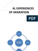 Biblical Experiences of Migration