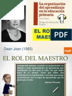 2.a El Rol Del Maestro