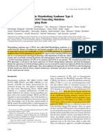 Neurological Phenotype in Waardenburg Syndrome Type 4