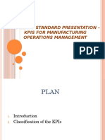 ISO 22400 Standard Presentation -KPIs