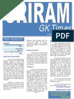 04 - Sriram GK Times Aug - Sep 2014