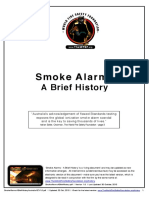 Smoke Alarms A Brief History