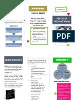 Asfiksia Leaflet