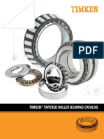 Timken Tapered Roller Bearing Catalog