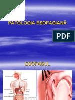5.PATOLOGIA ESOFAGIANĂ