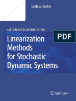 Linearization Methods to Stochastic Dynamic Systems Springer Socha