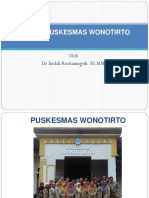 Profil Puskesmas Wonotirto