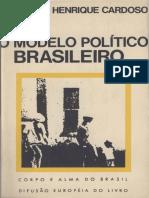 O Modelo Político Brasileiro - Fernando Henrique Cardoso