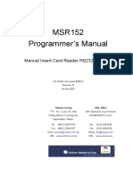 MSR152 Programmer's Manual
