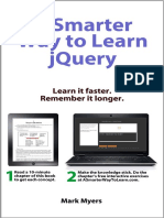 A Smarter Way to Learn JQuery - Mark Myers