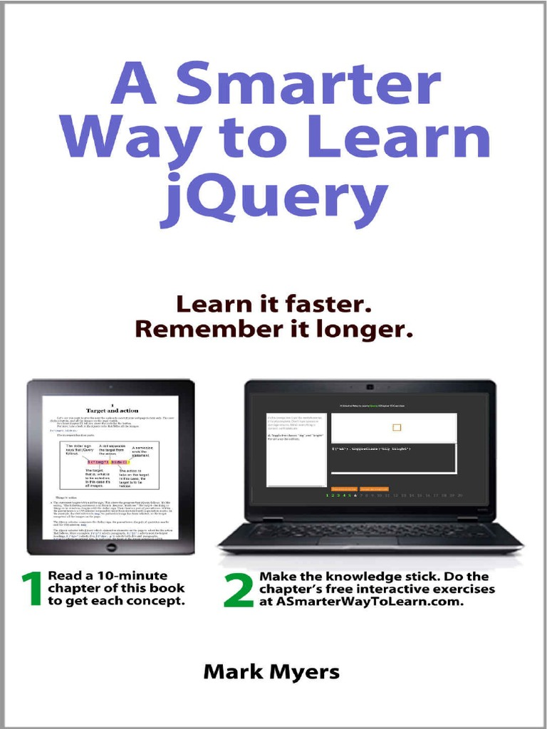 A smarter way to learn jquery mark myers html element j query baditri Image collections