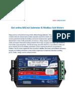 BACnet Energy Meter