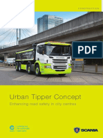 Brochure Scania Urban Tipper