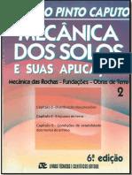 Mecânica Dos Solos e Suas Aplicações - Caputo v. 2 - Cap. 3-4-5
