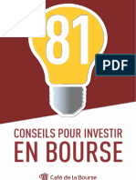 eBook 81 Conseils Pour Investir en Bourse