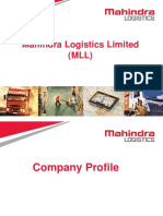 Mahindra Logistics Corporate Profile