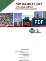 Decreto 409 2007 - Normas Básicas