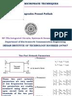 Lectut ECN 333 PDF 2 RF Microwave Network Analysis