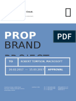 Contoh design Proposal A4