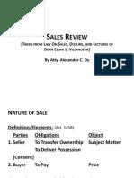 2017 Sales Review