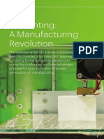 3D Printing a Manufacturing Revolution