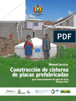 manual de construcción de cisternas de placas prefabricadas 16 m3