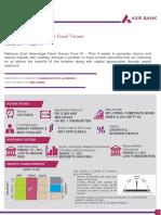 NFO Note -Reliance Dual Advantage Fixed Tenure Fund XI - Plan A
