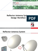 Reflector Antenna System Design