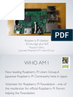 Raspberry Pi Update - Encourage Your IoT