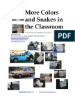 More Colors and Snakes in Class by Steve McCrea