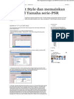 Membuat Style Dan Memainkan Keyboard Yamaha Serie-PSR_ MEMBUAT STYLE DARI MIDI