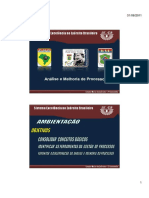Exército Brasileiro - Análise e Melhoria de Processos - 2011