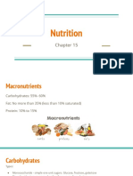 nutrition - exercise phys
